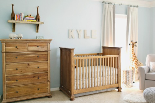 Baby Blue Nursery Design