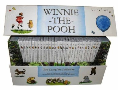 Winnie the Pooh Box Set unique christening gifts