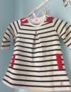 Petit Bateau Dress Baby Girl Netherlands Amsterdam Nautical