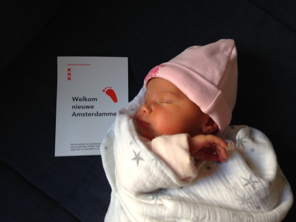 Amsterdam newborn baby