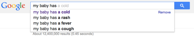 Dr Google Baby Queries