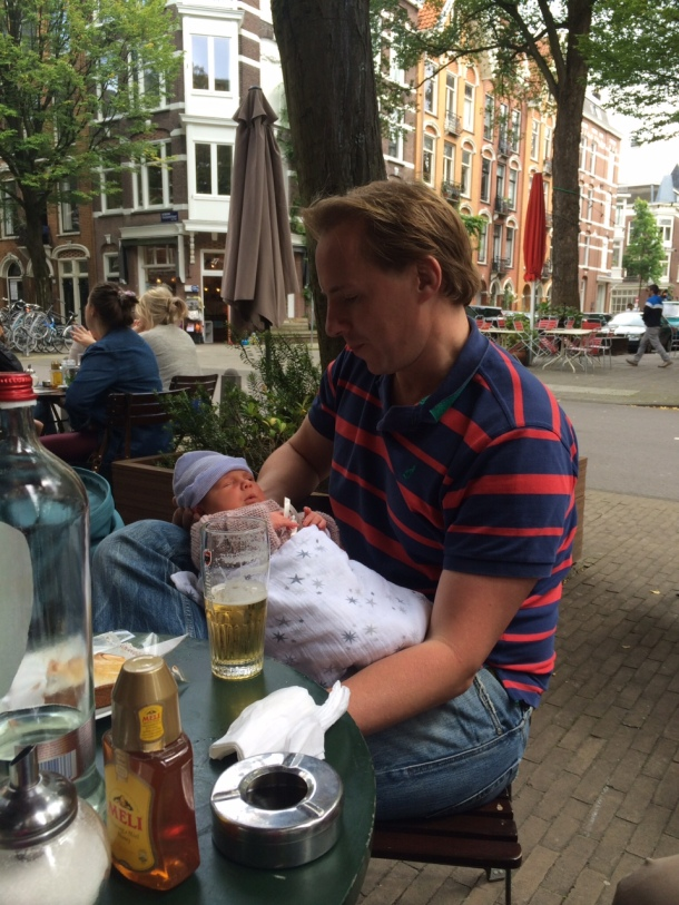 cafe toussaint baby friendly lunch amsterdam