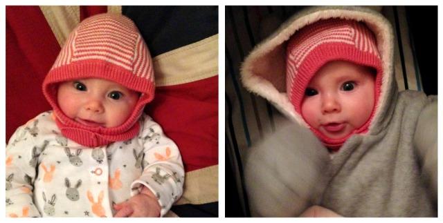 Petit Bateau cagoule winter baby hat amsterdam