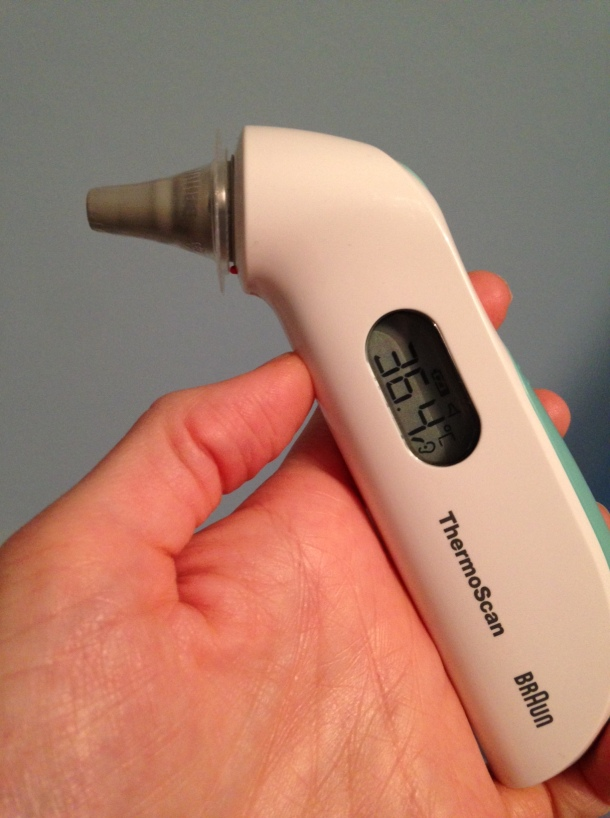 braun in ear thermometer
